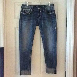 Vigoss Thick Stitch Skinny Jeans in Size 10